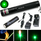 Military 532nm 1mw Green Laser Pointer Lazer Pen Beam + 18650 battery + Charger