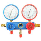 0-500PSI Air Conditioning Refrigerant Fluorine Table Gauge Diagnostic Test Tool