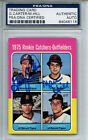 1975 Topps #620 Gary Carter PSA DNA Certified Authentic Auto (rookie card)
