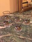 Set of 5 ~ Vintage Glass Tumblers ~ Horse and Rider with Carriage