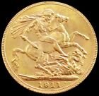 1911 C GOLD CANADA SOVEREIGN KING GEORGE V COIN MINT STATE CONDITION