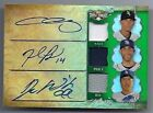 2013 Topps Triple Threads Chris Sale David Price Hyun-Jin Ryu Auto Patch #d 18