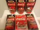 LOT OF 6 COCA COLA DIE CAST VEHICLES. CARS TRUCK DIE CAST MATCHBOX REVELL