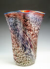 Superb Art Glass Vase by PHILABAUM / CARLSON from the Perseid Series of 1985