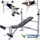 WEIGHT BENCH OLYMPIC Strength Training Press Fitness Home Gym Exercise Equipment