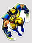 Wolverine Style A 35 inch Sticker BOGO white Vinyl laptop Decal