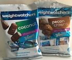 4 WEIGHT WATCHERS WHITMANS COCONUT  PECAN CROWNS CHOCOLATE CANDY 4 BAG LOT