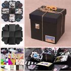 Explosion Box Scrapbook DIY Photo Album Accessories Funny Cards Stickers Ribbons