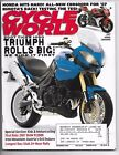Cycle World Magazine November 2006- BMW R1200R, Bimota Tesi 2D, Triumph Tiger