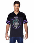 NWT DC Comics officially licensed Rock this Joker Football Jersey Purple Green