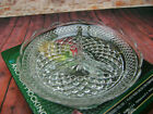 Wexford Divided Relish Dish Anchor Hocking Clear Glass Candy Dish In Box