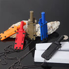 Mini Stainless Steel Necklace Straight knife Camping Kife Letter Opener ZH