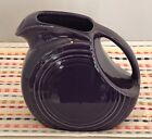 Fiestaware Plum Juice Pitcher Retired Fiesta Dark Purple Small Pitcher