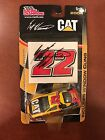 SCOTT WIMMER SIGNED 2004 CAT CAR w WINDOW CLING RACING CHAMPIONS 1/64