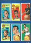 1970-71 Topps Basketball lot of 26 diff cards Robertson Baylor Hawkins White RC