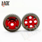 Cam Gears Pulley Pair Aluminum For Toyota Levin 4AGE 20V AE101 AE111 RED