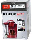 Keurig Hot K50S Classic Series Coffee Maker, 24 K-Cup, Coffee Filter, Red