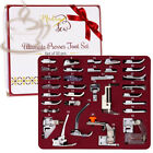 MadamSew Presser Foot Set 32 PCS - The ONLY One with Manual and Deluxe...