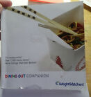 Weight Watchers Dining Out Companion Points Flex  Core Foods Book 2007 Older