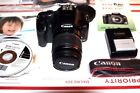 Canon EOS Rebel XSi 450D 122MP Dig SLR Camera W 18 to 55mm Lens