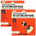 2 BLACK & DECKER A7516 TCT CIRCULAR SAW BLADES  160 x 16 12T FOR WOOD