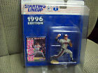 Greg Maddux 1996 Starting Lineup Figure with Gray Jersey, Card & Pro Tech Case