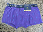NEW RALPH LAUREN POLO Purple All Over Pony Men's Boxer Briefs/TRUNKS S/M/L/XL