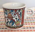Fiestaware Betty Crocker Christmas Mug Fiesta White Ring Handled Holiday