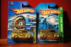 2006 Hot Wheels Super Treasure Hunt Lot of 2 Dairy Deliverys 1 06 Card 1 07 Card