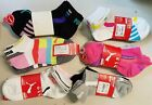 WOMENS PUMA SOCKS SIZE 9 11  ASSORTED COLORS  STYLES 3 PAIRS BUNDLE
