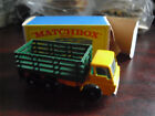 Vintage 1960s Matchbox Dodge Stake Truck 4 Mint in Box