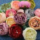 1 Bouquet 15 Head Artifical Rose Silk Flower Wedding Party Home Decoration Decor