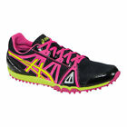 ASICS Womens Hyper Rocketgirl XC Track Spike Black Hot Pink Flash Yellow Size