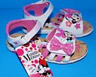 NWT Disney MINNIE MOUSE Light Up Sandals Pink  White Size 9