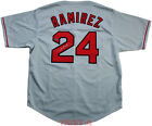 Manny Ramirez Signed Autographed Boston Red Sox Custom Jersey TRISTAR