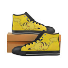 Pokemon Pikachu Canvas Shoes for Young Fashion Womens Running Sneakers