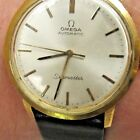 Vintage 18kt Omega Automatic Seamaster 17 Jewels Watch