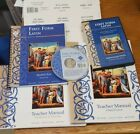 First Form Latin Set with Dvd flashcards teachers manuals and Student Text