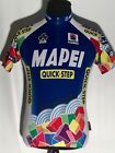 MAPEI Quick Step Team Issue Colnago Sportful World Cup 1 4 Zip Cycling Jersey