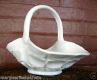 Indiana Milk Glass Opaque White Constellation Basket