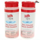 2 HTH Spa Non Chlorine Shock Oxidizer New