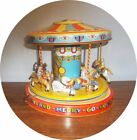VERY NICE CHEIN TIN PLAYLAND MERRY GO ROUND COMPLETE WORKS