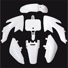 WHITE Plastic Fairing Kits Honda CRF50 XR50 110cc 125cc Pit Dirt Bike Thumpstar