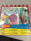 Dr Seuss Scrapbook Set 9 Chipboard Pages Stickers Accents Binder Ring Instructs