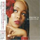 Monica All Eyes On Me Japan Cd Bvcp-21260 W/Obi 2002 Obi New