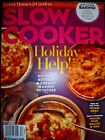 Better Homes  Gardens Slow Cooker Magazine 2017 Holiday Recipes BRAND NEW