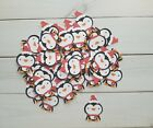 Winter Penguin Die Cuts Embellishments Punchies Punches Christmas Holidays