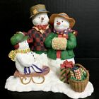 Lang & Wise/Susan Winget Snow Family Snowman 1998 #5