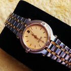 Gucci 9000L 18 KGP & SS Two Tone Women's Watch with Champagne Dial - 25 mm