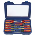 S#Draper Tools Expert Ten Piece Fully Insulated Plier and Screwdriver Set 71155